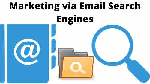 Marketing via Email Search Engines